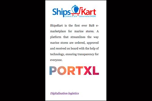 Startups-PortXL 2018